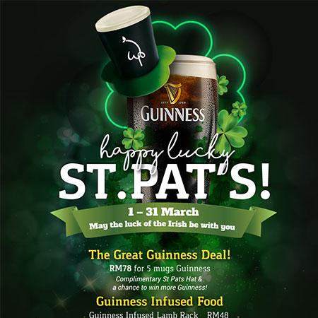 Happy Lucky ST.PAT'S!