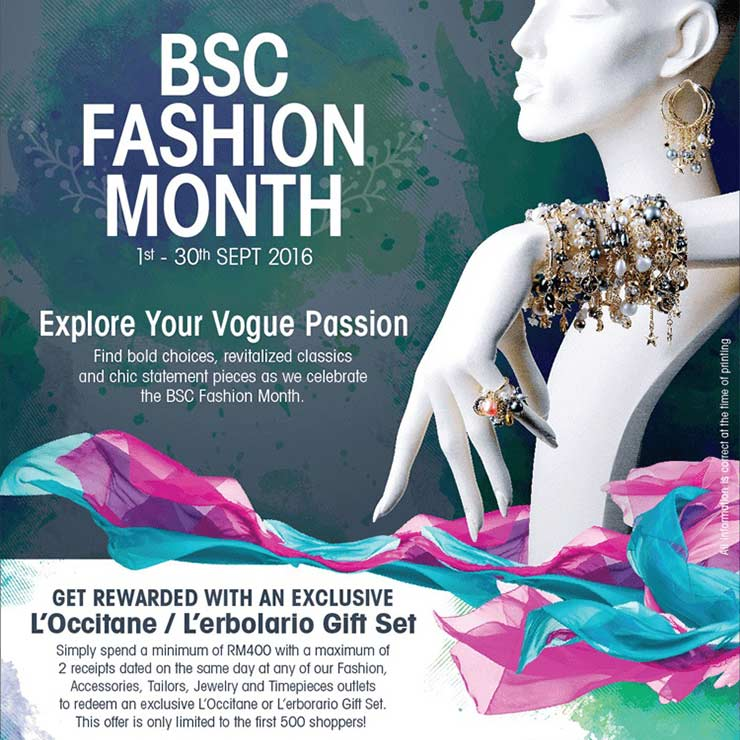 BSC's Fashion Month