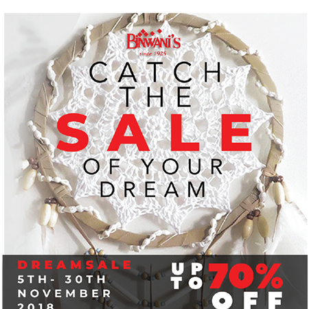 Catch the sale of your dream