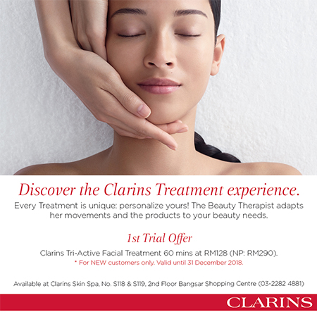 Discover the Clarins Treatment experiences