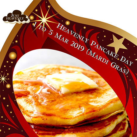 Heavenly Pancake Day
