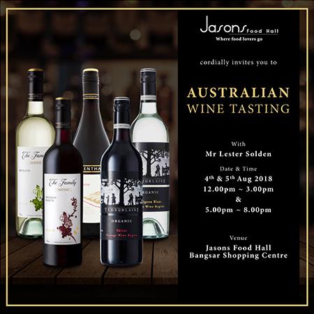 Australian Wine Tasting