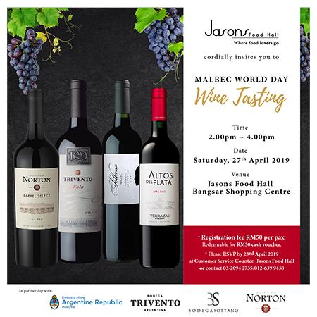 Malbec World Day Wine Tasting
