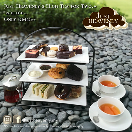 Just Heavenly's High Tea For Two