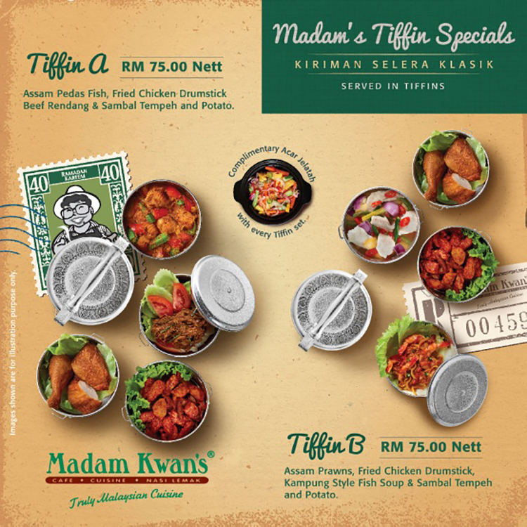 Madam's Tiffin Specials