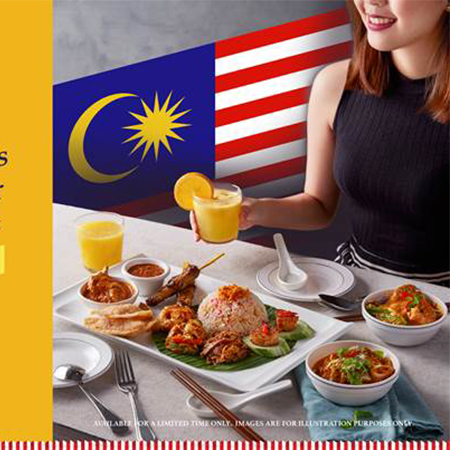 Celebrate with Madam's Truly Malaysian Platter