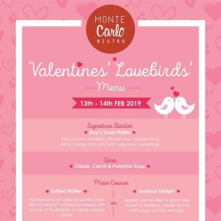 Valentines Lovebirds