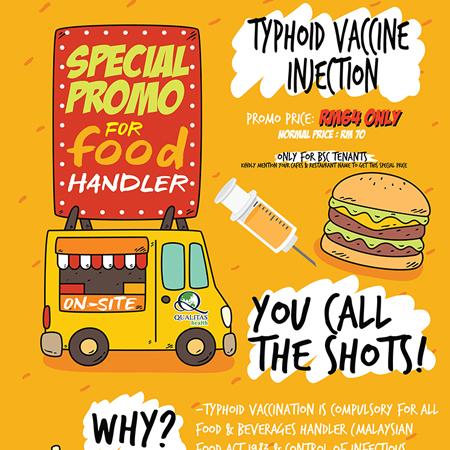 Spacial Promo For Food Handler