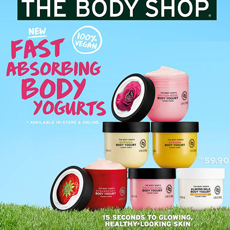 Fast Absorbing Body Yogurts