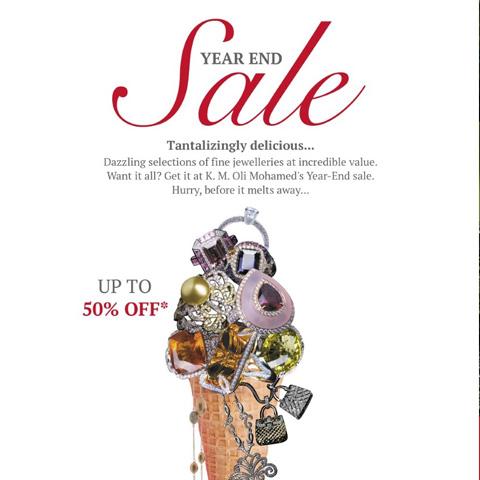 KM Oli Muhamed's Year End Sale 2017