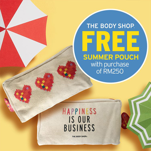 Free summer pouch