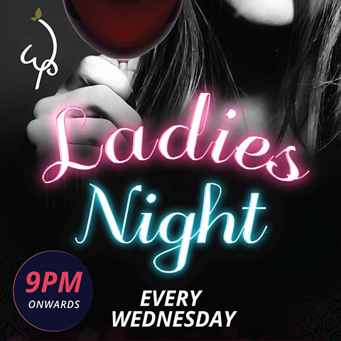 Ladies night August promotion
