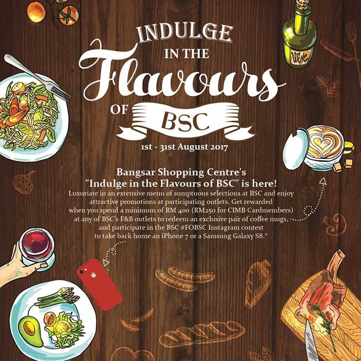 Indulge in the Flavours of BSC