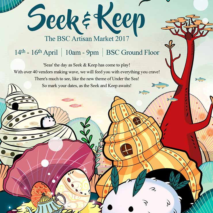 'Seas' the day as Seek & Keep has come to play from 14 - 16 April.
